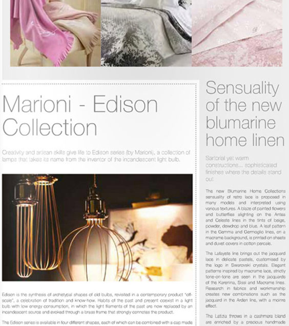 EDISON Collection by Marioni_HOME INTERNATIONAL-UK